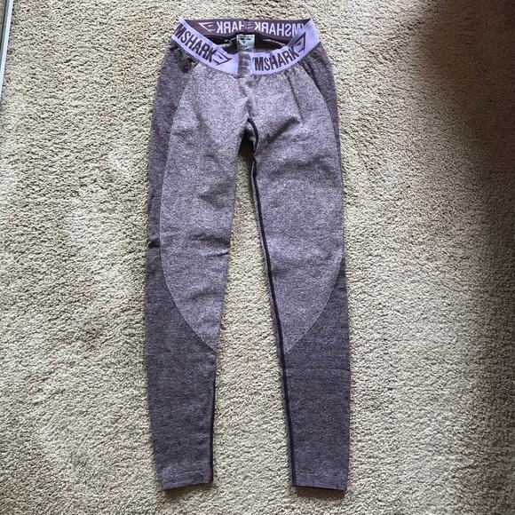 932b21ac79aad9 Gymshark Pants - Gymshark Flex Leggings - Purple Wash Pastel Lilac